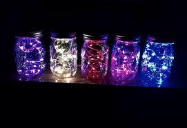 diy lights jar