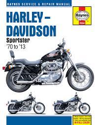 harley davidson sportsters 70 10 haynes repair manual haynes