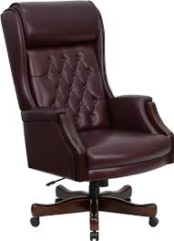 High Quality Office Chairs Amazon Com Flash Furniture High Back Traditional Tufted Burgundy