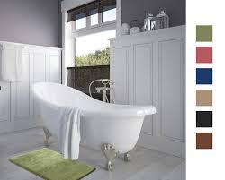 Luxurious Bath Rugs Luxurious Absorbent Soft Memory Foam Bath Mat Bathroom Shower Rug