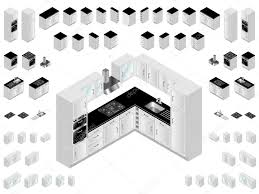 kitchen design elements kitchen design elements stock vector eyematrix 17421139