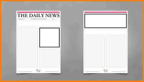 sample blank newspaper 5 blank newspaper article template attorney letterheads