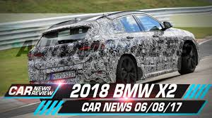 2018 bmw x2 front bumper design spied car news 08 06 17