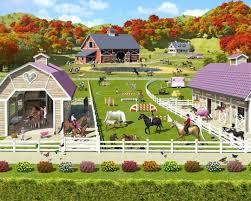 papier peint chevaux pour chambre papier peint poneys pour une chambre d enfant ou de fille