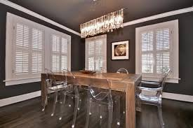 Crystal Chandelier For Dining Room by Modern Linear Rectangular Island Dining Room Crystal Chandelier