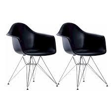 Heavy Duty Dining Room Chairs Paris Tower Arm Chair Chrome Leg 2 Pack