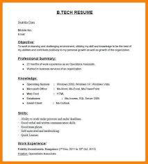Basic Resume Skills Examples by 8 Basic Resume Format For Freshers Dialysis Nurse