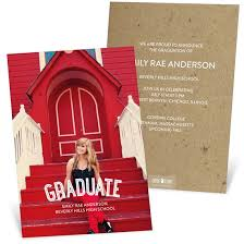 formal college graduation announcements college graduation announcements custom designs from pear tree