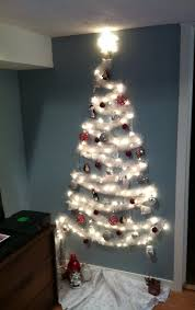 the no tree christmas tree wall christmas tree small spaces and