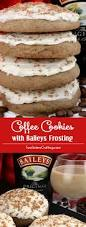coffee cookies with baileys frosting two sisters crafting