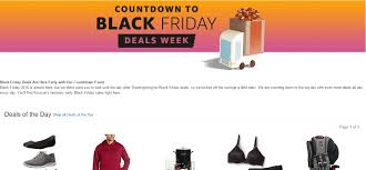 amazon black friday 2016 sales advertising and marketing blog by storeya