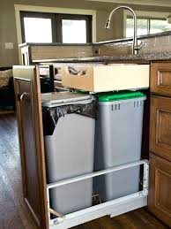 under sink trash pull out trash pull out cabinet size allnetindia club