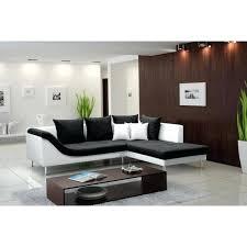 canapé simili cuir blanc pas cher canape tissus design canapac dangle aragon tissu noir et simili