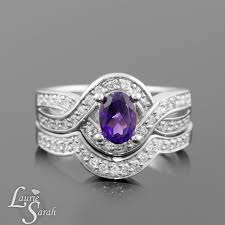 amethyst engagement ring custom by amethyst engagement ring diamond engagement ring oval wedding