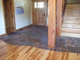 lahontan l95 foyer two flooring materials wood entry