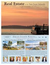 real estate in the san juan islands june 2017 real estate tab by