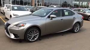 lexus isf silver new atomic silver 2015 lexus is 250 awd premium package review