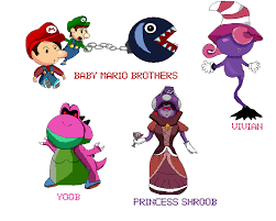 ssbp random mario characters nunkinz1000 deviantart