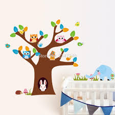 compare prices printed tiles sticker online shopping buy low bird carved elephant deer owl wall sticker tree swing home decor pvc stickers mural art