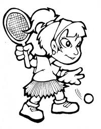 tennis coloring pages sport coloring pages of 18902