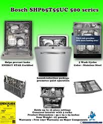 What Is The Best Dishwasher Why Is The Bosch Shp65t55uc Is The Best Buy Dishwasher