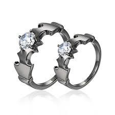 batman wedding bands batman wedding rings evermarker