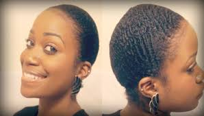 styling your twa no heat how to slick down short afro natural