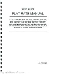 100 pdf john deere 2305 service repair manual grilles