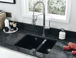 black undermount kitchen sink white composite undermount kitchen sinks nice black granite bowl