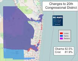 Boca Raton Map Looking At The Florida Redistricting Maps Offered By The