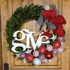 Lighted Outdoor Wreaths Outdoor Fireplace Christmas Decorations Home Design Ideas Eksterior