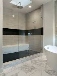 Bathroom Tubs And Showers Ideas by Bathroom Astonishing Picture Of Cream Bathroom Design And