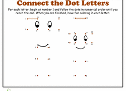 dot to dots worksheets u0026 free printables page 2 education com