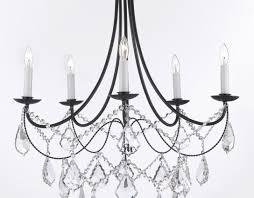 striking design vintage zinc chandelier lovely modern kitchen