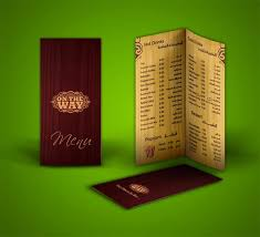 creative menu restaurant and cafe menu template free food menus