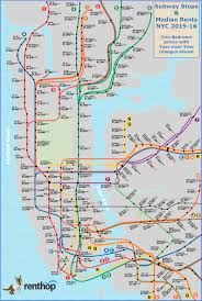 Penn Station New York Map by Subway Stops Near Cheap Nyc Apartments Business Insider