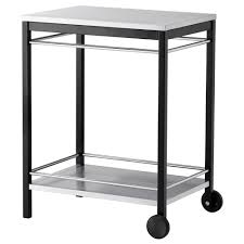 furniture kitchen microwave cart ikea stainless steel table