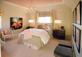 vintage pink brings southern sophistication to showcase bedroom