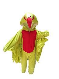 Parakeet Halloween Costume Kfd Kids Parrot Bird Costume U0026 Fancy Dress Amazon Clothing