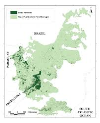 Parana River Map A Biodiversity Vision For The Upper Paraná Atlantic Forest