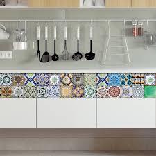kitchen backsplash decals portuguese tiles stickers aljustrel pack of 36 tiles tile