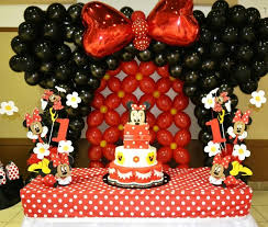 Mickey Mouse Party Theme Decorations - 341 best minnie mouse party ideas images on pinterest birthday