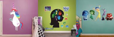 pixar post products u0027inside out u0027 fat head wall decals