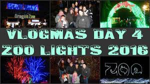 Zoo Light Portland by Vlogmas Day 4 Zoo Lights 2016 Youtube