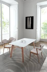 White Modern Dining Room Sets Mid Century Classic Dining Sets From Zuo Modern Allmodernoutlet Com