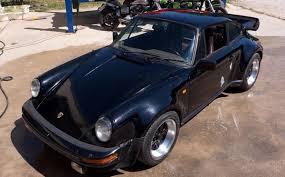 outlaw porsche 911 barn find 930 turbo porsche is more