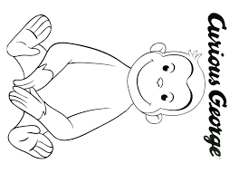curious george coloring book printable curious george