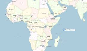 Liberia Africa Map by Anse Lazio Map