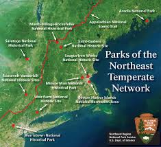 Acadia National Park Map About The Northeast Temperate Network