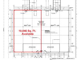 Industrial Floor Plan by Industrial U2013 10 000 Sq Ft U2013 36 Cornell Lane Brantford U2013 Vicano